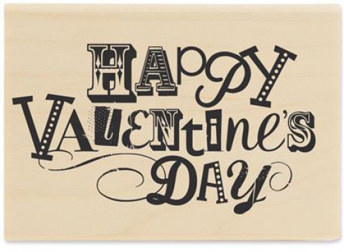 Stempel Happy Valentines Day