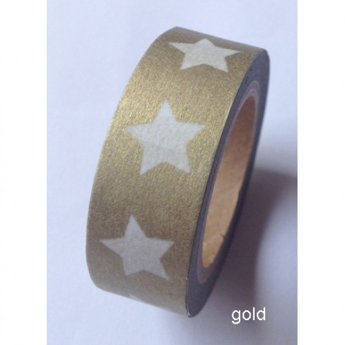 Masking Tape Stern gold