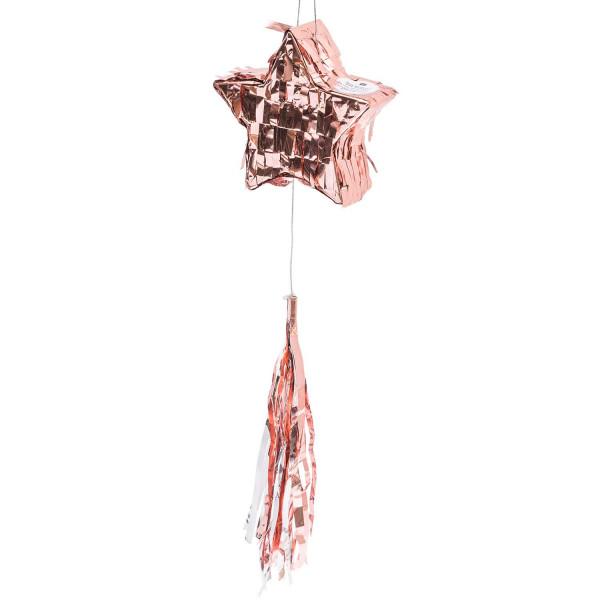 mini Pinata STERN rosé gold befüllbar