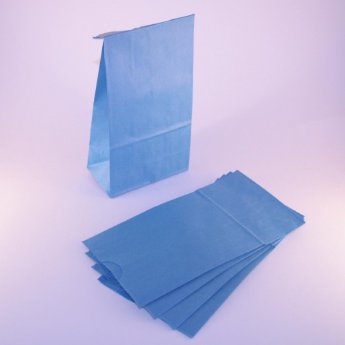 Papierbeutel hellblau Geschenkbeutel