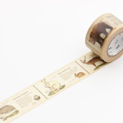 Masking Tape encyclopedia animal vintage