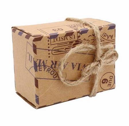 5 Schachteln Giveaways Favours Hochzeit TRAVEL
