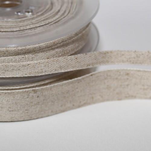 Naturband Hanf / Baumwolle 19mm