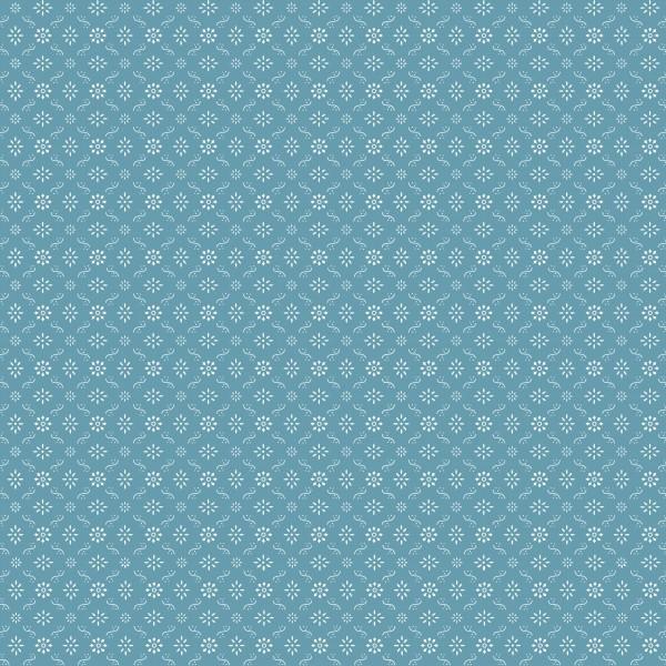 Geschenkpapier 5 Meter staub-blau 35cm