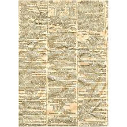 10 Blatt vintage Zeitungspapier A4