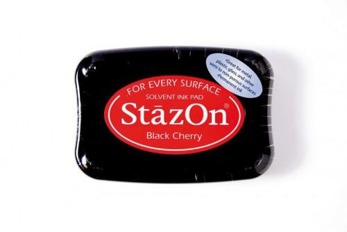Permanent Stempelkissen StazOn rot
