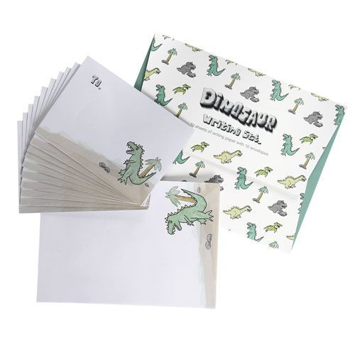 Kinder Briefpapier Dino