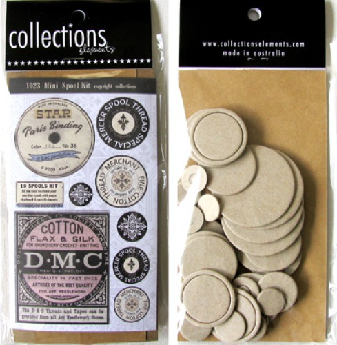 Embellished Mini Spool Kit Garnspulen