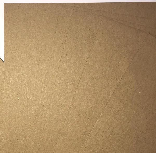 5 Bögen A4 Kraftpapier 216gr