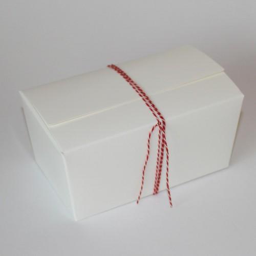 5 Stk Schachtel weiss Gr. M