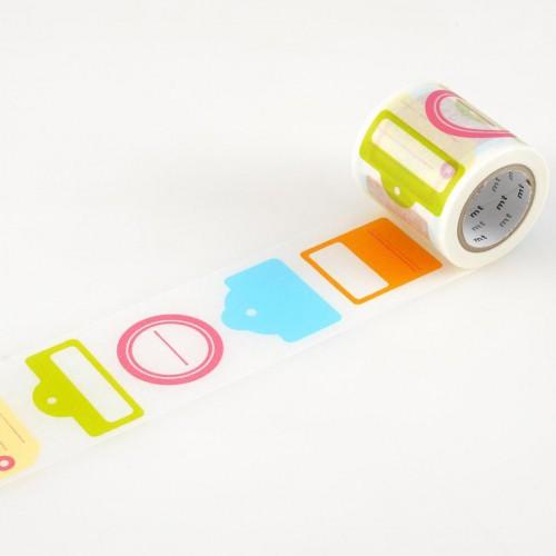 Masking Tape tag mit Labeln