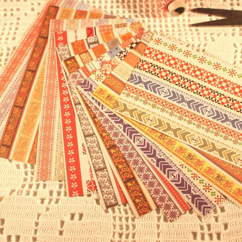 Masking Tape Sticker Set 10 Bögen