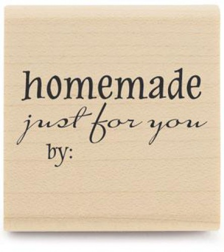 Stempel homemade just for you by