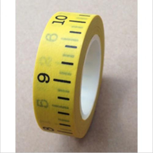 Masking Washi Tape - Massband gelb