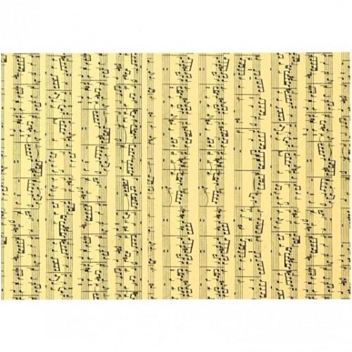 10 Blatt Notenpapier A4 creme