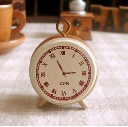 kleiner Stempel Uhr Nostalgie