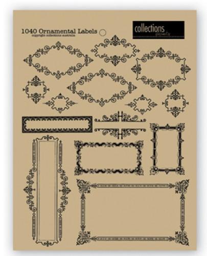 Bogen Ornamental Labels Kraft