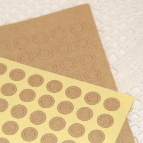 Pappverstärkung Ösen Kraft für Paketanhänger