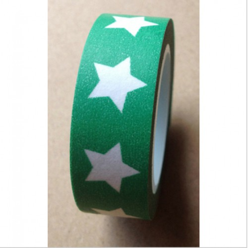 Masking Tape Stern grün