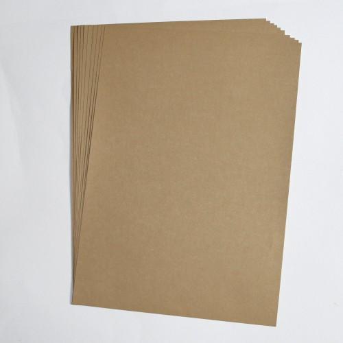 edle Briefbögen aus Kraftpapier
