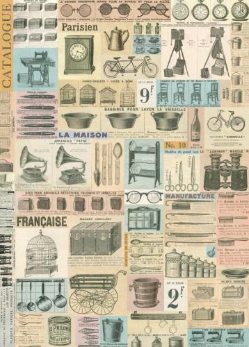 Geschenkpapier FRENCH EPHEMERA