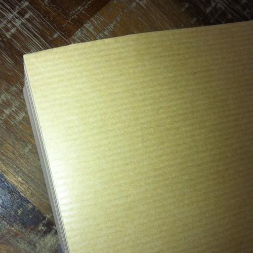 50 Blatt Kraftpapier braun gerippt A4 90g/m2