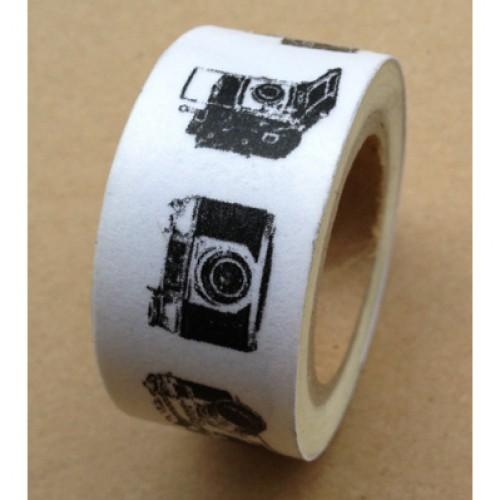 Masking Tape vintage Cameras