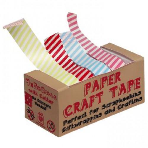 Masking Tape Set 4 Farben gestreift
