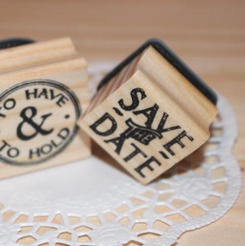 kleiner Stempel SAVE THE DATE