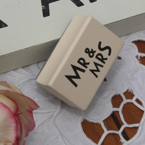 kleiner Stempel MR & MRS