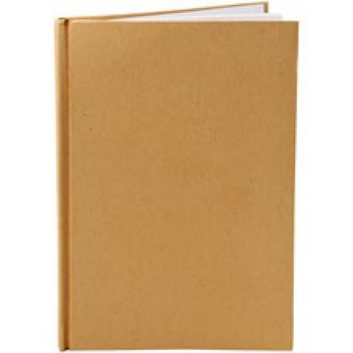 Notizbuch Kraft braun A5 60Blatt blanko