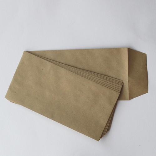 Umschläge Kraftpapier mit seitlicher Klappe 10 Stk