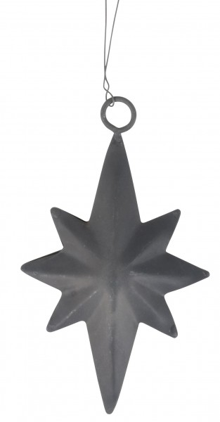 kleiner Baumhänger Stern aus Zink