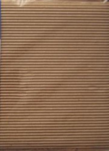 10 A4 Bögen Wellpappe graubraun breit