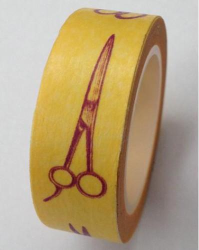 Masking Tape vintage Scissors Scheren
