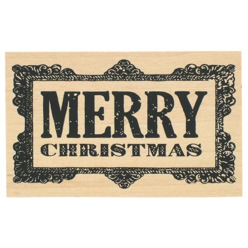 Stempel Merry Christmas