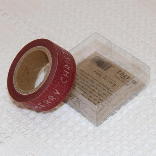 Papier-Klebeband Masking Tape Merry Christmas