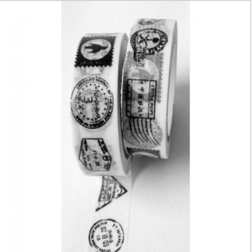 Masking Tape vintage Stenpel Stamps