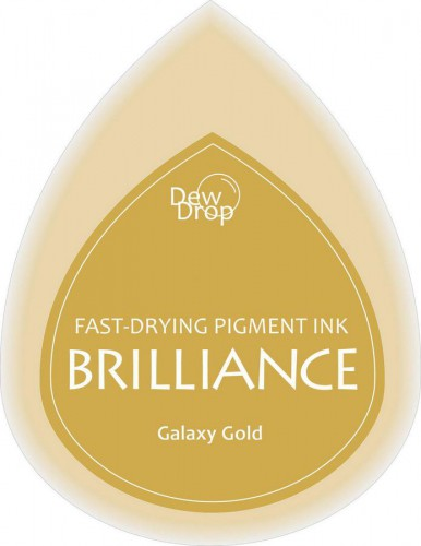 kleines Brilliance Stempelkissen galaxy gold