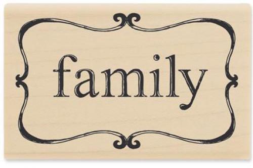 Stempel Ornamentrahmen Family