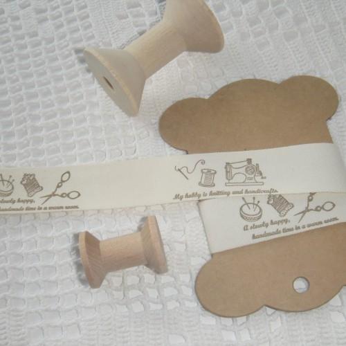 5 Wäsche-Etiketten Label handmade