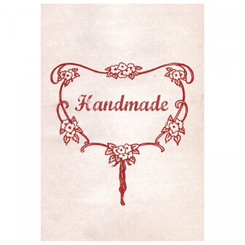 handmade Fabric Label textiles Schmuck-Etikett