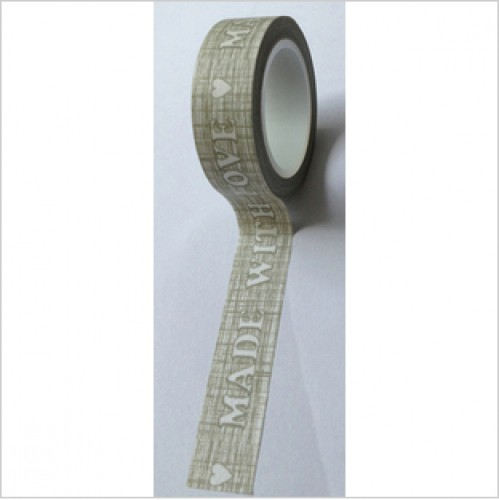 Masking Tape Made with love