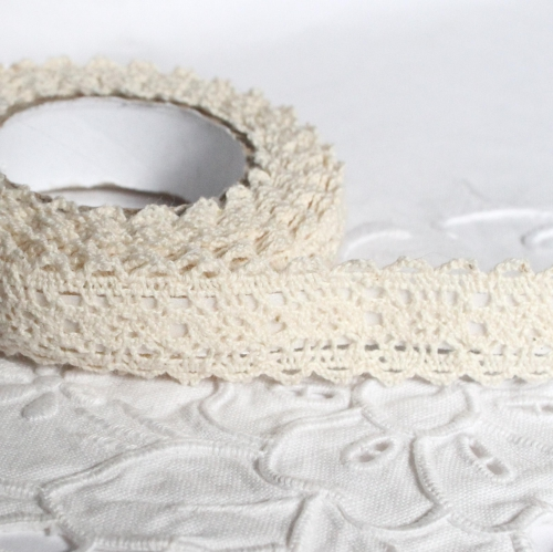 h kelspitze spitzenband selbstklebend creme 20mm x 2m achwieschoen. Black Bedroom Furniture Sets. Home Design Ideas