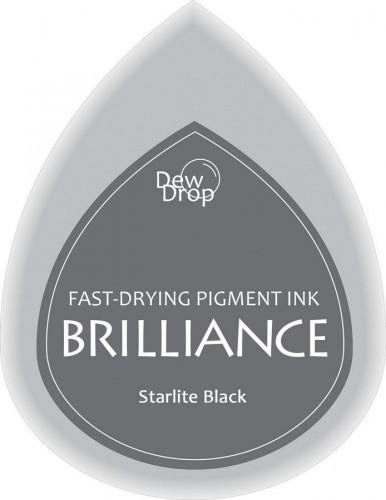 kleines Brilliance Stempelkissen starlite schwarz