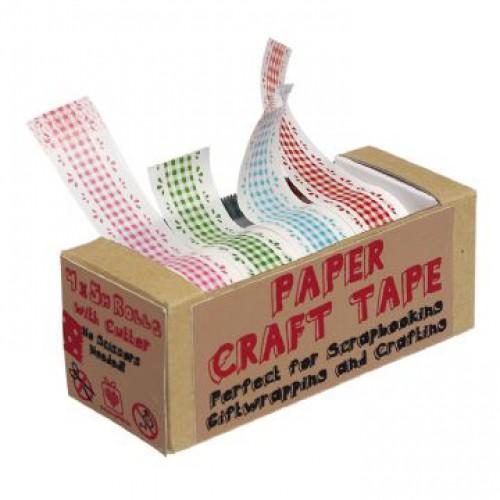 Masking Tape Set 4 Farben kariert Karos