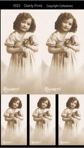 Charity Prints Mädchen Foto