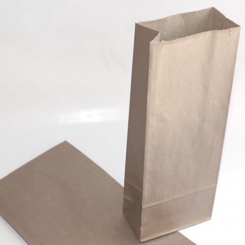 5 Stk kleine Papiertüten Cappuchino Metallic