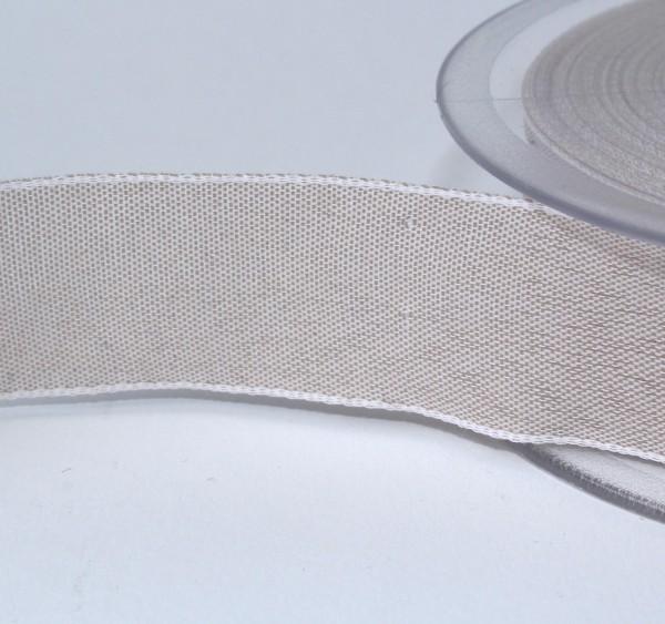 Schleifenband Toffee 25mm