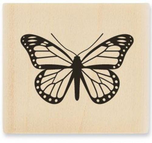 kleiner Stempel Schmetterling